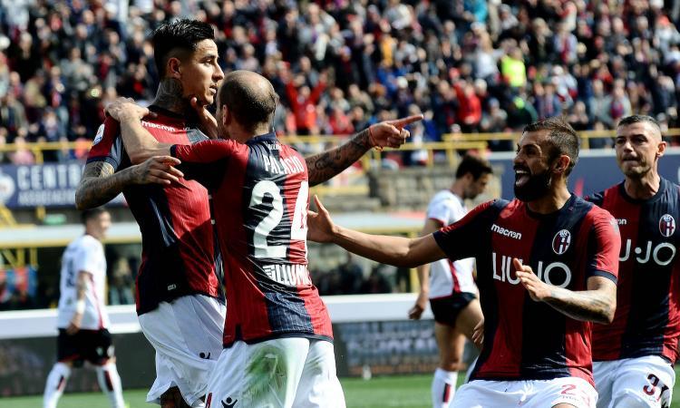 Bologna-Sampdoria 3-0: il tabellino
