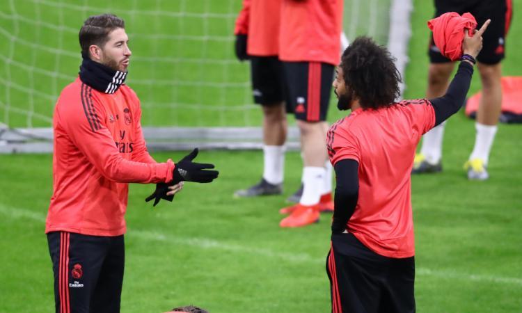 Sergio Ramos: 'Lite con Marcelo? È un fratello, su Solari non scegliamo noi. Non ci nascondiamo, è un disastro'