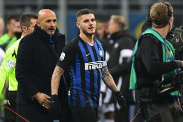 Spalletti guarda Icardi Inter