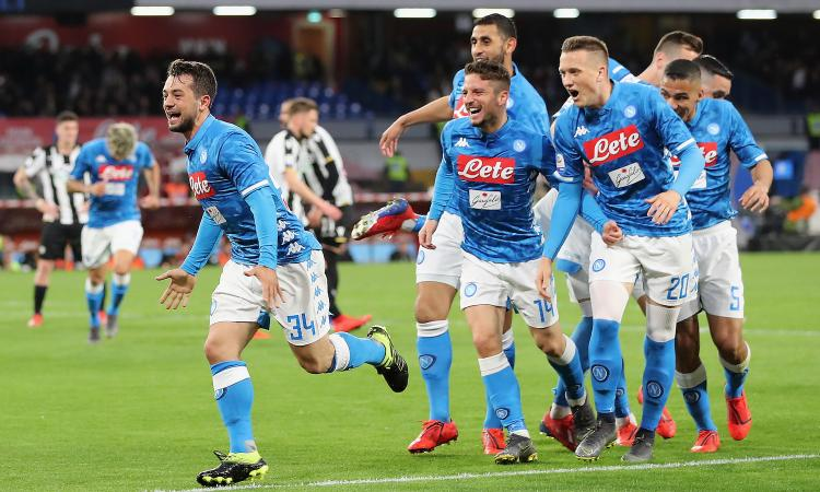 Poker Napoli con Younes alla Insigne, ma troppe fesserie per l'Europa League