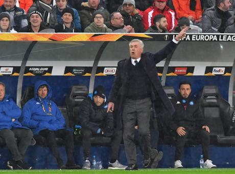 Il Napoli più brutto della stagione: Ancelotti, così niente Europa League