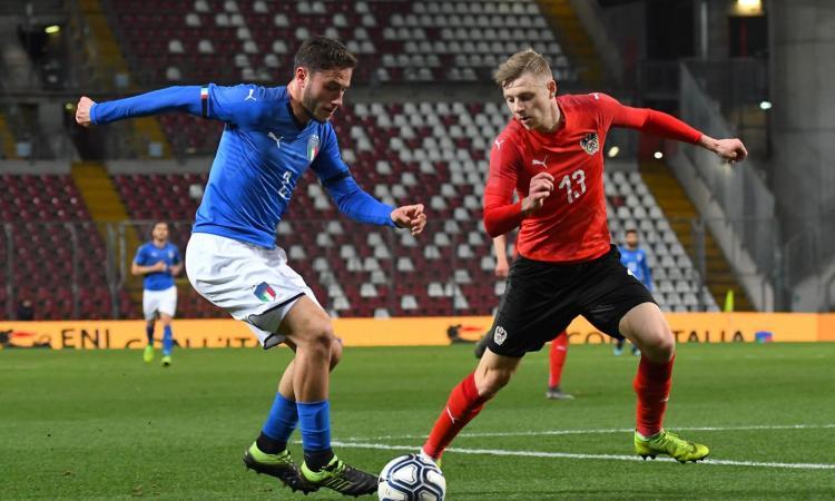 L'Under 21 di Di Biagio delude ancora: 0-0 con l'Austria, si salva solo Audero