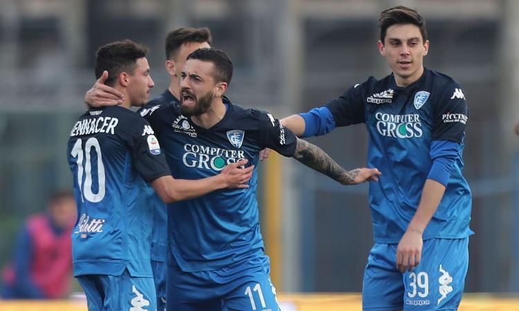 Serie A, rivivi la moviola: c'è il rigore per la Lazio, il Var dà quello per l'Empoli. Annullato gol a Giaccherini