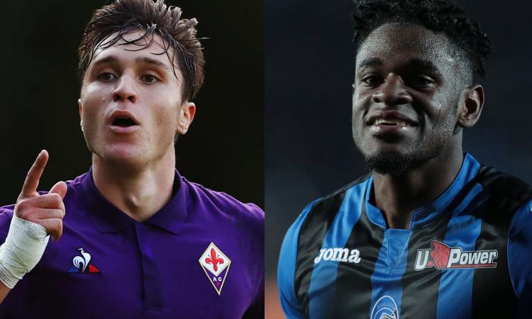 Inter, Ausilio a Bergamo per Atalanta-Fiorentina: non solo Zapata e Chiesa