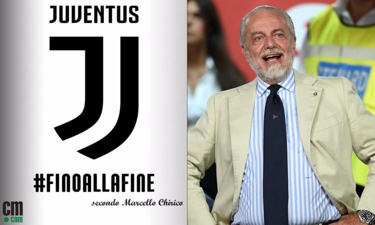 De Laurentiis copia Moratti: radiate la Juve, così anche il Napoli può vincere