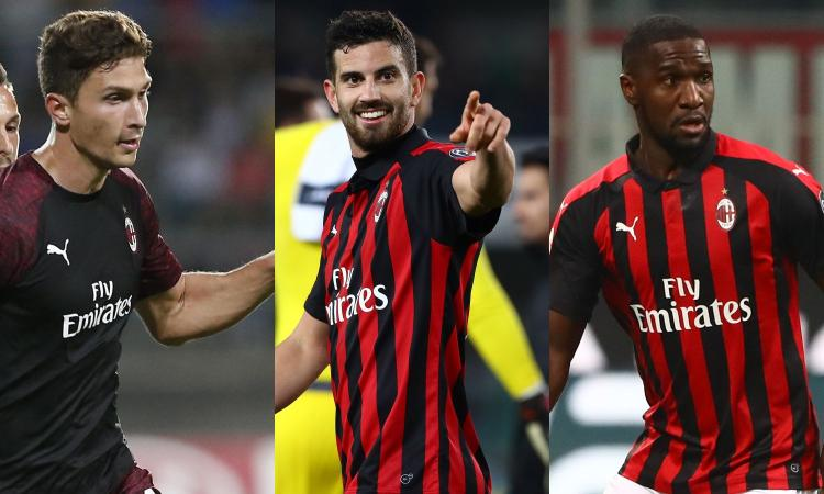Milan, l'Europa ridisegna la difesa: Caldara, Musacchio e Zapata, le ultime