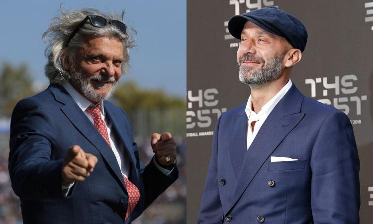 Ferrero cede la Sampdoria, ci siamo: vertice a Londra, il ruolo di Vialli
