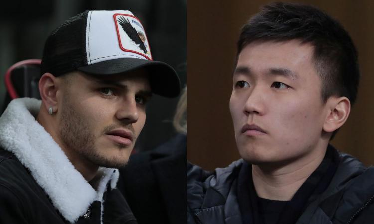 Inter, Icardi a Zhang: 'Togliermi la fascia è stata un'umiliazione inutile'