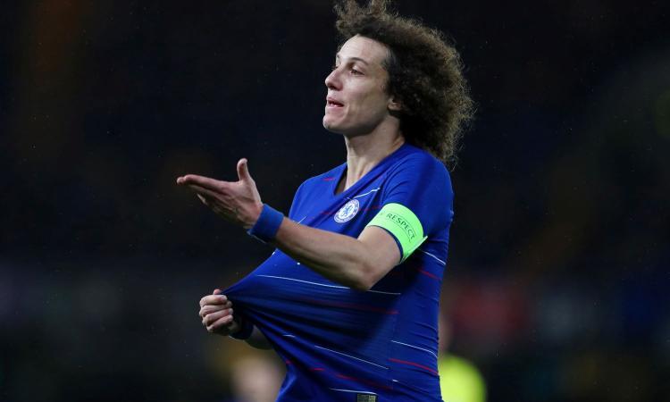 Chelsea, David Luiz ha deciso il suo futuro