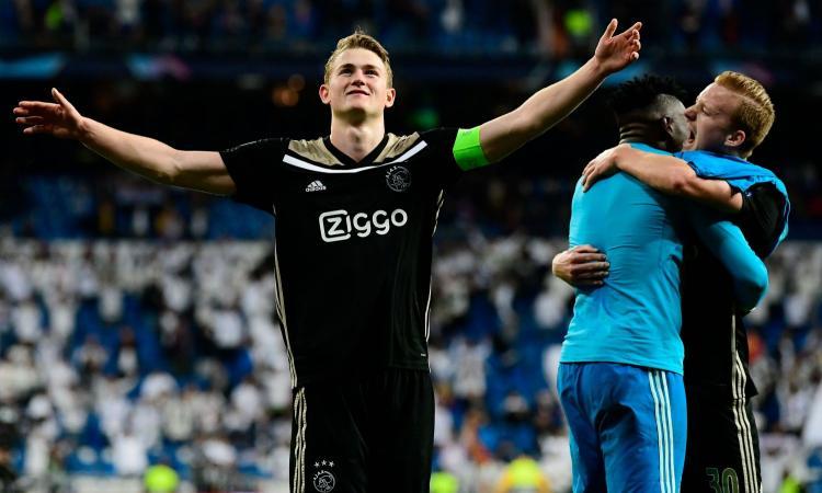 Ajax: de Ligt non ha ancora deciso il suo futuro