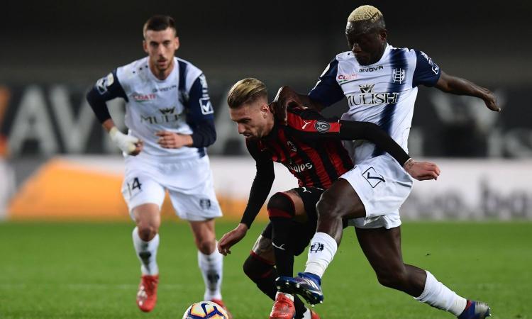 Chievo-Milan 1-2, il tabellino