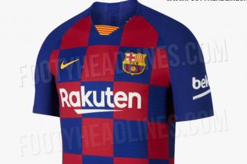 hot sale online 2ff69 2e062 Gallery: Barcelona's Croatia-inspired 2019/20 home kit ...