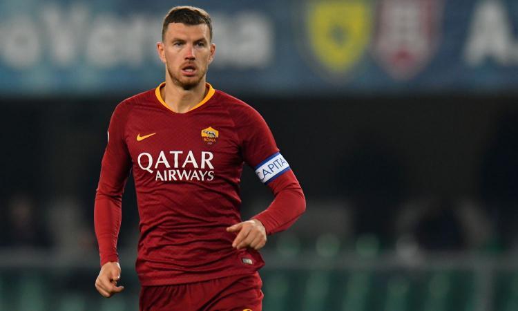 Dzeko ammicca all'Inter: like al commento di un tifoso nerazzurro FOTO