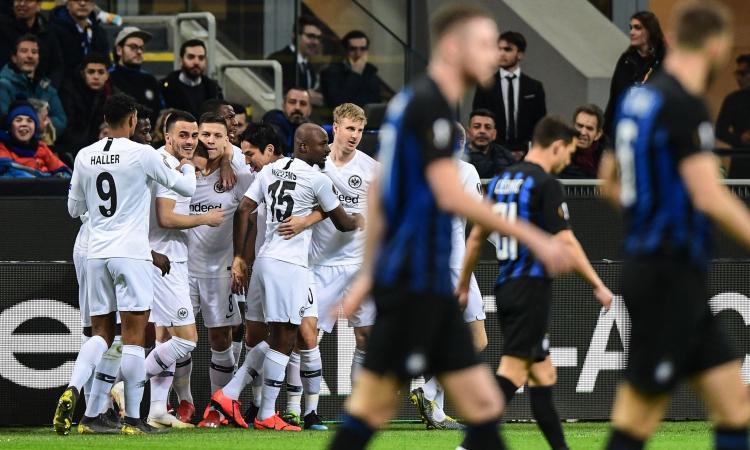 Inter inerme, l'Eintracht vince 1-0 a San Siro: Spalletti fuori dall'Europa