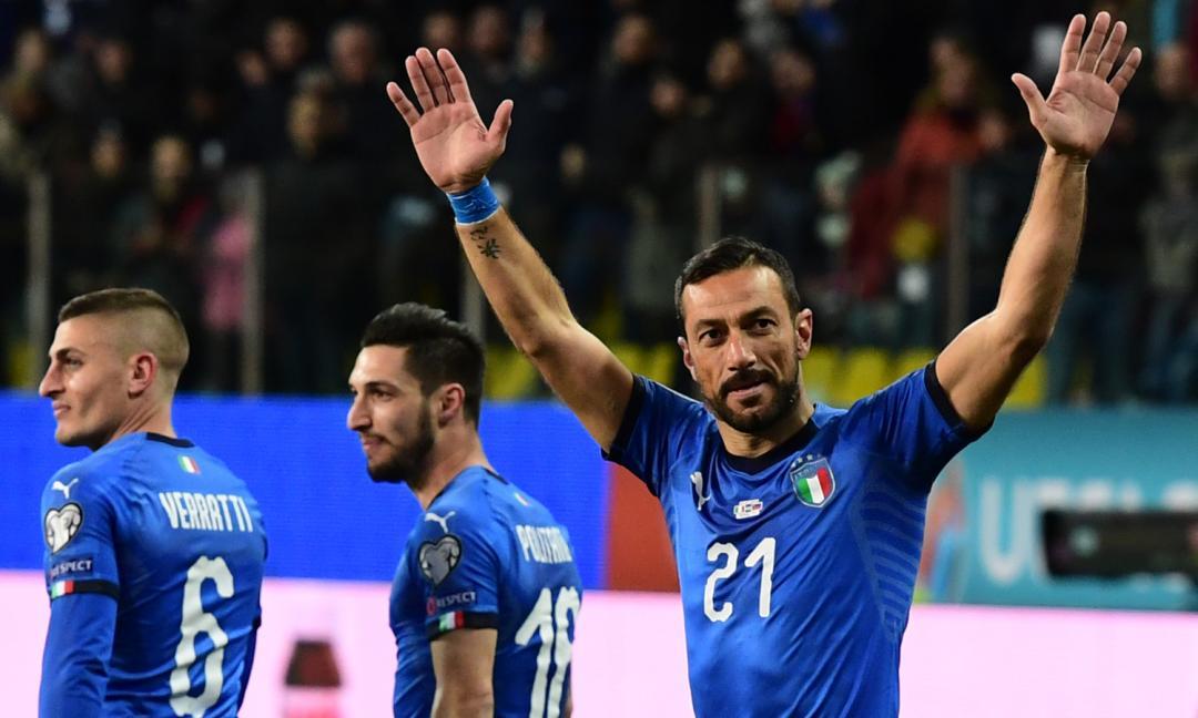 Italia, goleada tra record e passaggio di consegne...