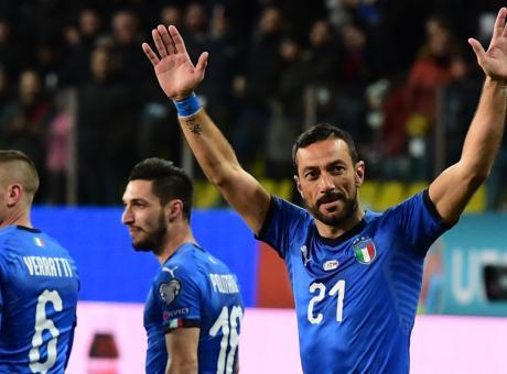 Quagliarella-record, è il marcatore più vecchio nella storia dell'Italia: 'Grazie!'