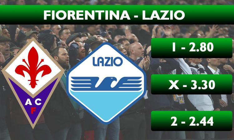 Schedina CM: la Lazio vince a Firenze. Quote da incasso facile in Serie B