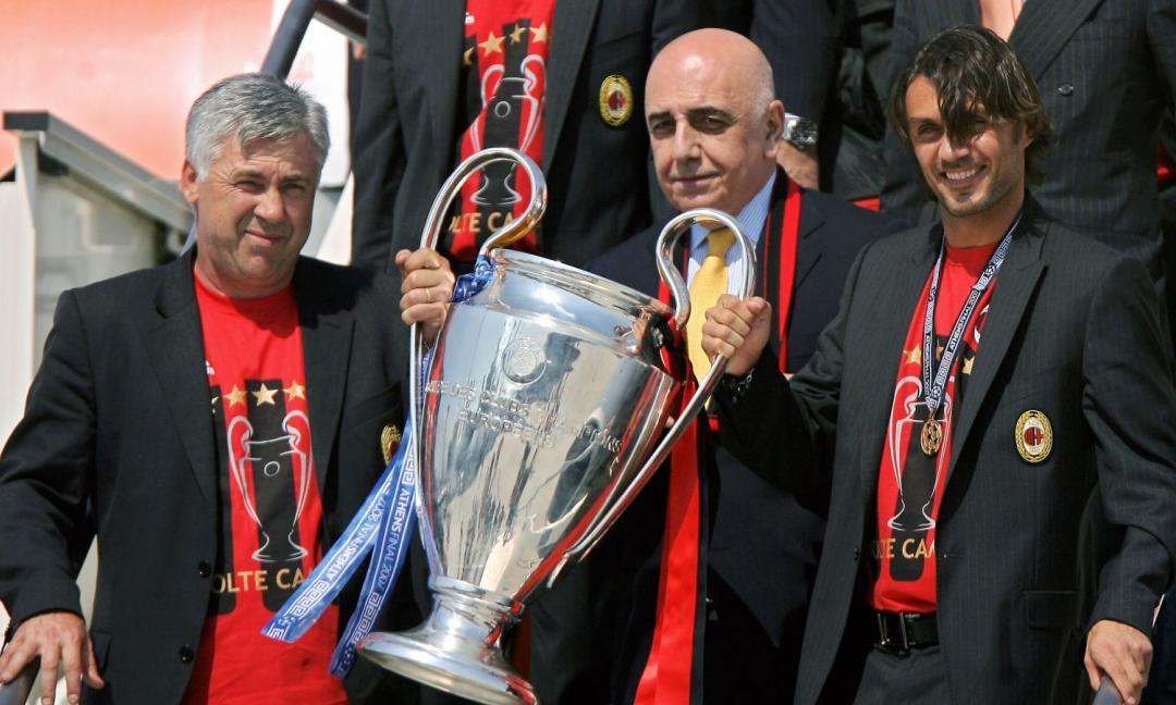 Ancelotti e il Milan, una storia di grandi trionfi