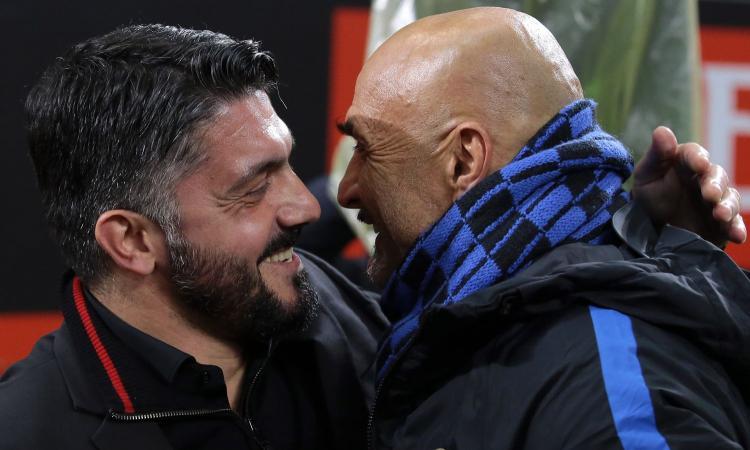 Milan e Inter, un primato con la Juventus