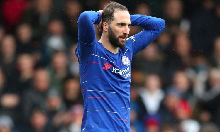 Il Chelsea pronto a tagliare Higuain