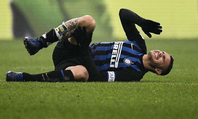Convocati Inter: out Icardi. Fuori anche Miranda, Nainggolan e Joao Mario