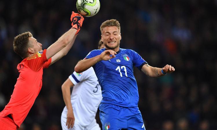 Italiamania: Immobile mortificato da Jorginho e Verratti. Mancini cambia?