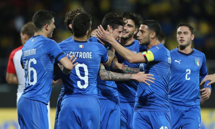 L'Italia Under 21 delude ancora: da 2-0 a 2-2 con la Croazia, segna Halilovic