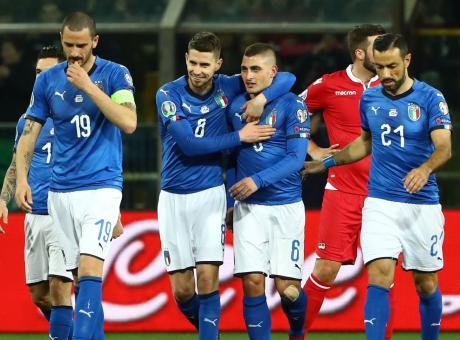 L'Italia vince ma non è ancora squadra. Verratti leader. Juve, che fai con Kean?