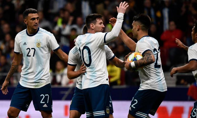 Argentina, Lautaro: 'Messi sta bene, ma dobbiamo migliorare'