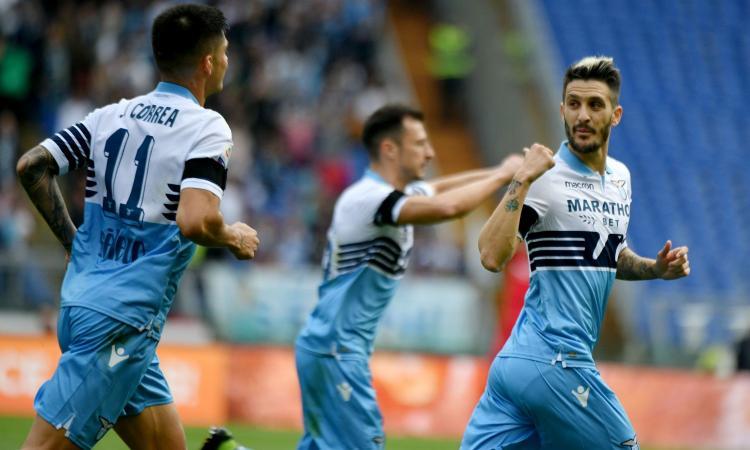 Super Lazio col marziano Luis Alberto: ora l'Inter deve preoccuparsi