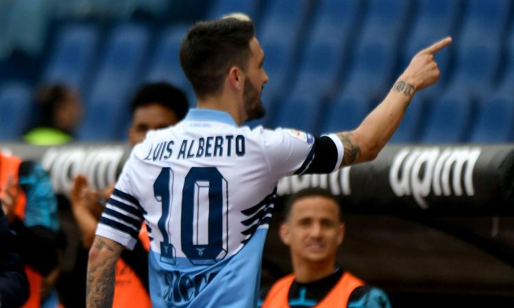 Lazio, fissato per il prezzo Luis Alberto