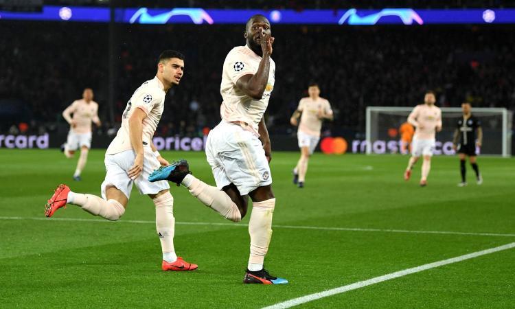 PSG-Manchester United 1-3: il tabellino