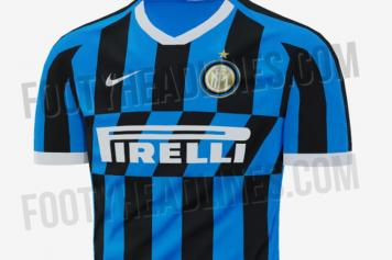 new concept bd5a2 4bb25 Watch: Inter present new home jersey for the 2019/20 season ...