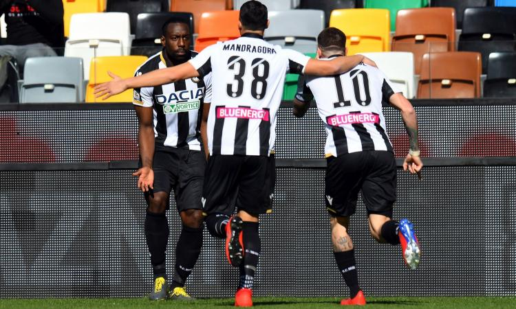 Udinese, D'Alessandro: 'La Roma è forte, ma vogliamo vincere'