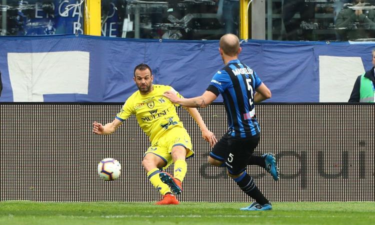 Atalanta, sgambetto dal già retrocesso Chievo: chance sprecata per l'Europa