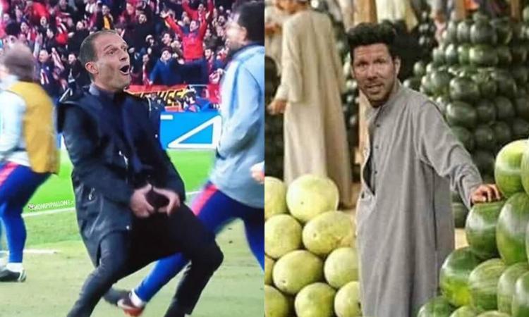 Juve-Atletico, meme e gif celebrano 'los huevos' dei bianconeri: 'Gufi abbattuti' FOTO