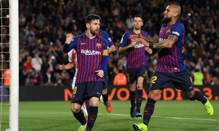 Barcellona, lavori in corso per il rinnovo di Messi