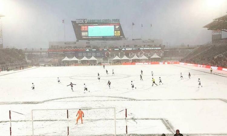 Momenti Di Gioia: Colorado-Portland a -27, è la partita più fredda della storia!