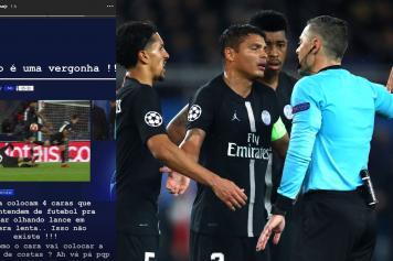 neymar, psg, insulti, arbitro, champions, 2018/19
