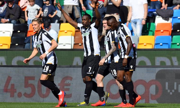 Udinese-Spal 3-2: il tabellino