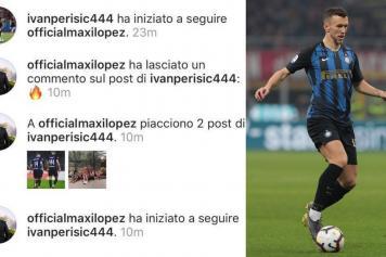 perisic, inter, follow, maxi lopez, instagram, 2018/19