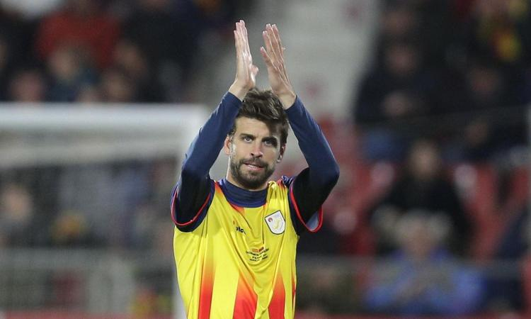 Catalogna, debutto vincente: 2-1 al Venezuela. Gioca Piqué, segna Bojan