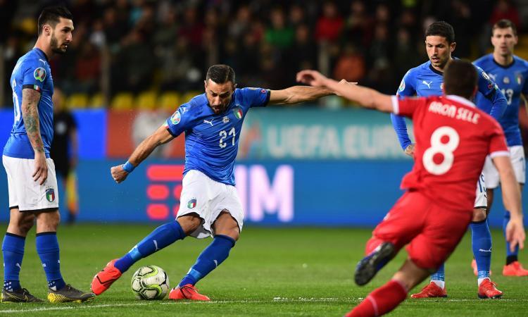 Italia-Liechtenstein 6-0: il tabellino