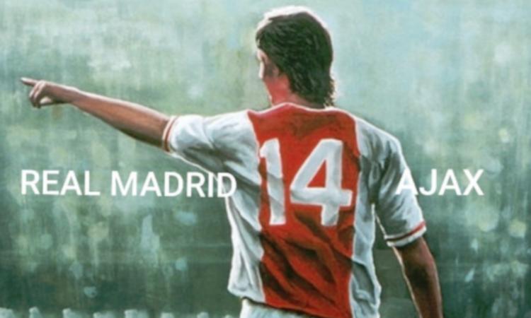 Real Madrid-Ajax 1-4, come il numero di Cruijff: 'Mai visto i soldi segnare un gol'