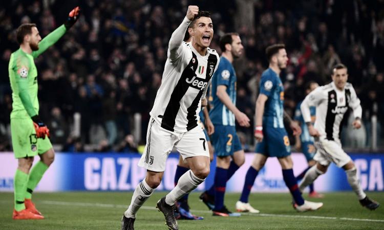 Ronaldo ha ribaltato l'Atletico Madrid e anche la Juve: è stato preso per questo