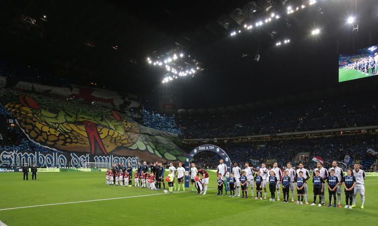 Presenze allo stadio, Serie A fuori dalla top 20: Inter e Milan meglio della Juve