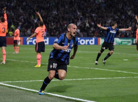 Sneijder: 'La Champions League vinta con l'Inter il ricordo più bello' VIDEO