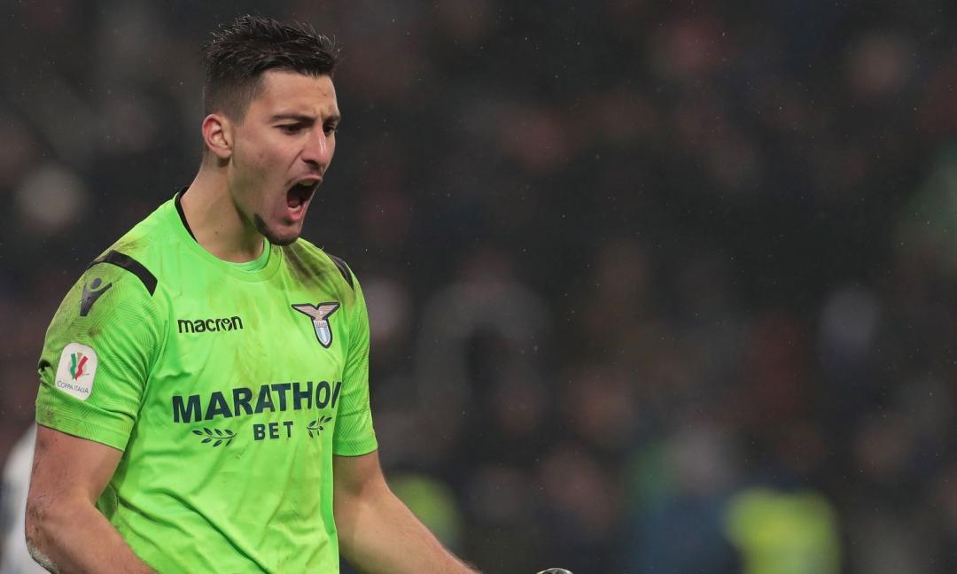 Lazio: le mani di Strakosha sul terzo posto in Serie A
