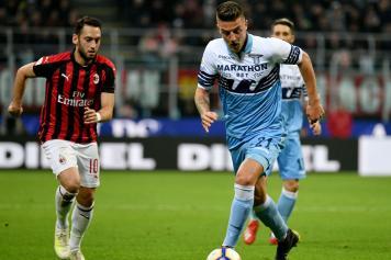 Calhanoglu Milan Milinkovic Lazio