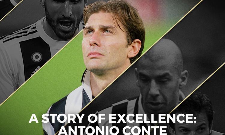 Antonio Conte, la storia del capitano gregario